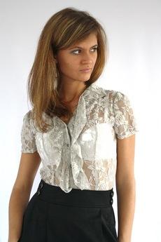 Кружевная блузка боди Mondigo