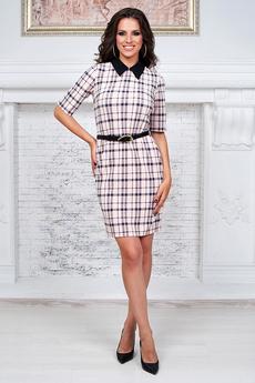 Платье с воротником в школьном стиле Angela Ricci
