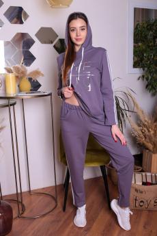 Серый спортивный костюм ElenaTex