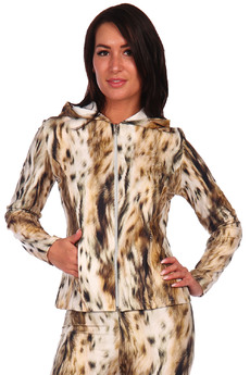 Леопардовая толстовка Натали